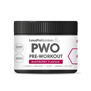 LinusPro PURE Pre-workout - Hindbær (200 g)