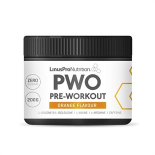 LinusPro PURE Pre-workout - Appelsin (200 g)