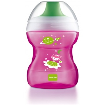 MAM Fun to drink cup pink 270ml