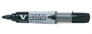 Whiteboard Marker Pilot Bg V Rund Spids Sort Sp6,0/Sb2,3Mm