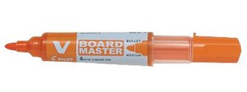 Whiteboard Marker Pilot Bg V Rund Spids Oran. Sp6,0/Sb2,3Mm