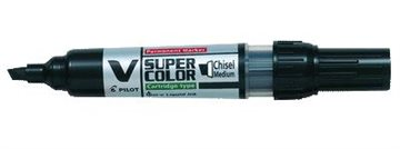 Whiteboard Marker Pilot Bg V Skrå Sp Sort Sp6,0/Sb2,2-5,2Mm