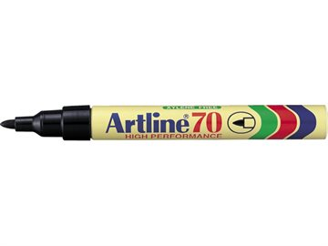 Marker Artline 70 Sort 1,5 Mm Sort