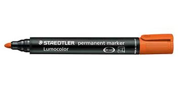Marker Staedtler Orange 352-4 Rund Spids