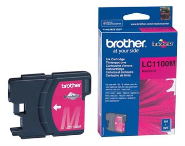 Brother LC1100M Magenta Blækpatron, 400 sider