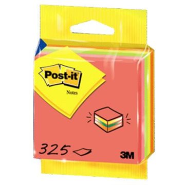 Kubusblok Post-It 75X75 Mm Neonpink 325 Blade