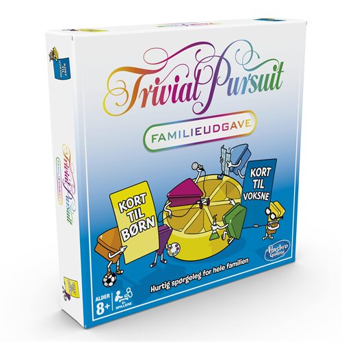 TRIVIAL PURSUIT FAMILY EDITION DK