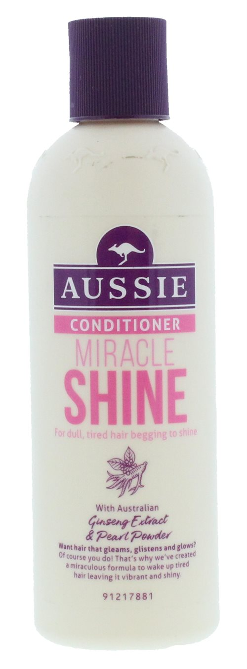 Aussie 250ml Conditioner Miracle Shine