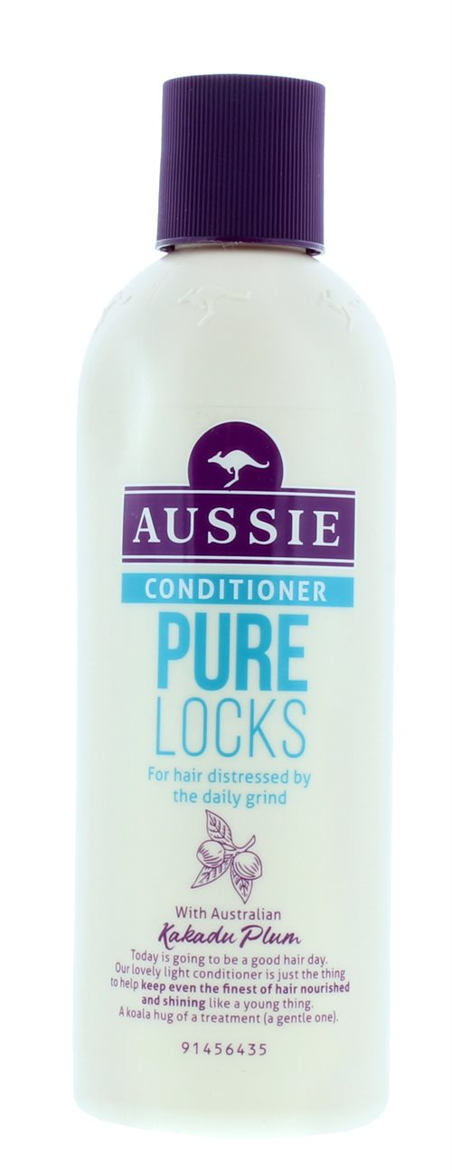 Aussie 250ml Conditioner Pure Locks
