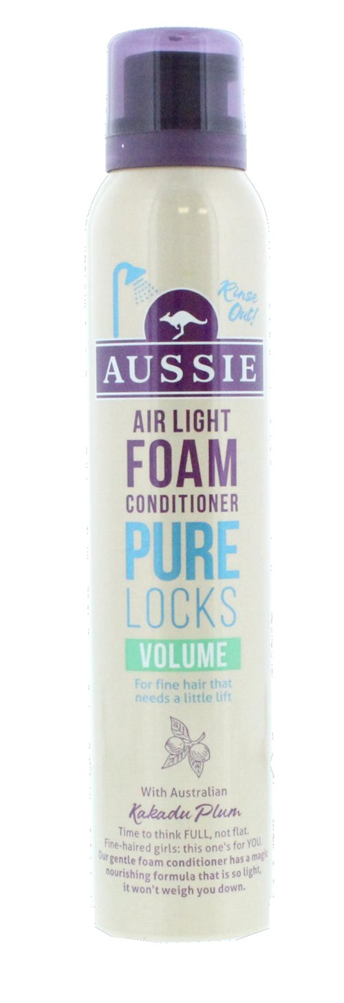 Aussie Conditioner Pure Locks Volumeume Foam 180ml