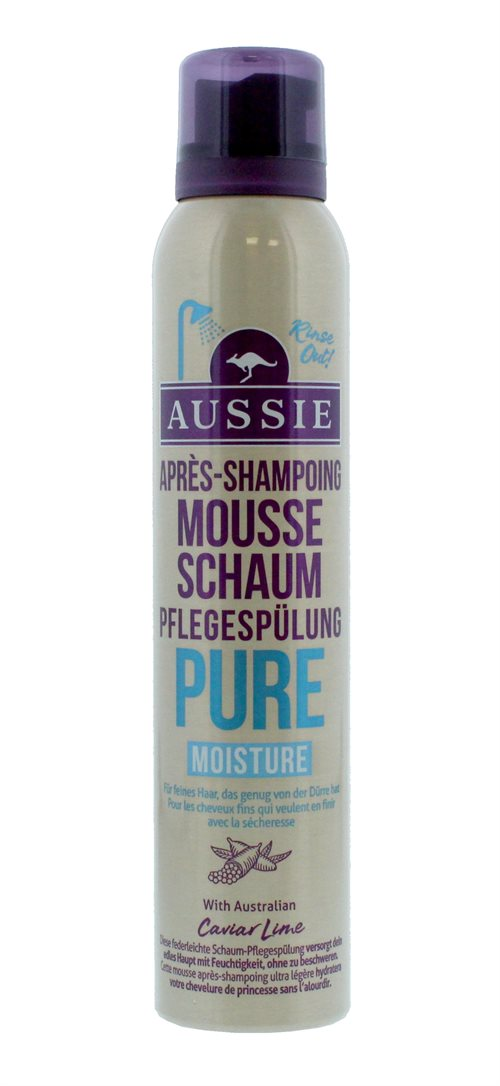 Aussie Conditioner Pure Moistureure Foam 180ml