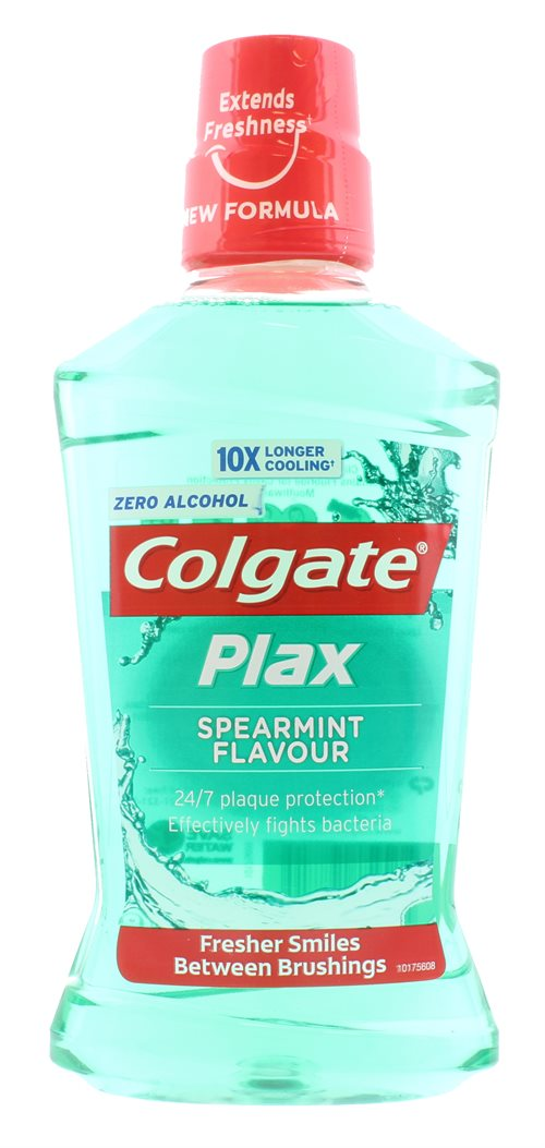 Colgate Colorgate Plax Mouthwash Spearmint 500ml