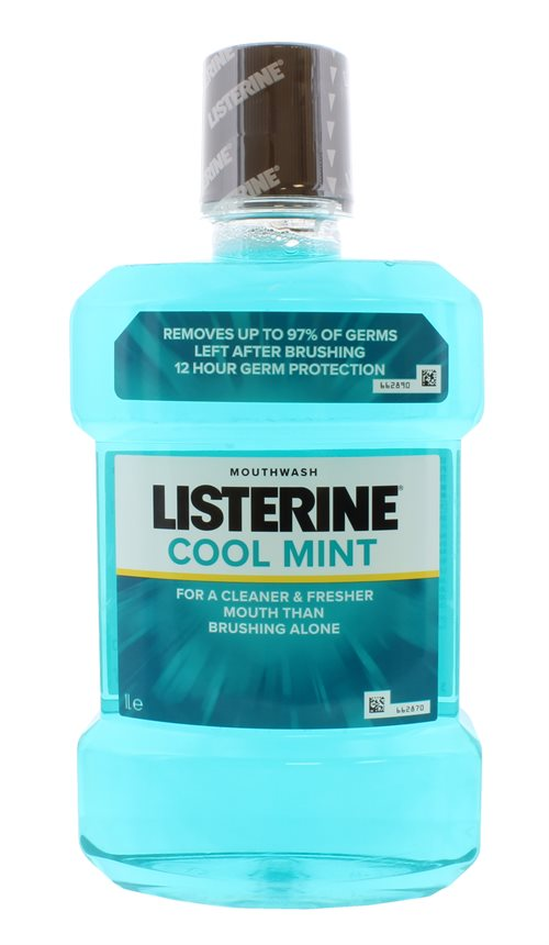 Listerine Cool Mint Mouthwash 1L