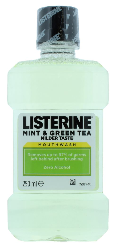 Listerine 250ml Mouthwash Mint & Green Tea