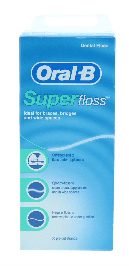 Oral B Superfloss 50M Dental Floss