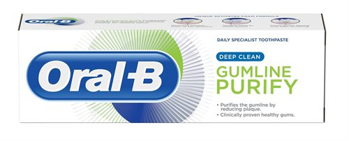 Oral B 75ml Toothpaste Purify Deep Clean