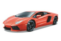 BBurago Lamborghini Aventador Lp700 4 1:18 Metallic Orange