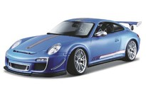 BBurago Porsche Gt3 Rs 4.0 1:18 Light Blue