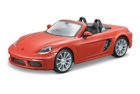 BBurago Porsche 718 Boxster 1:24 Orange