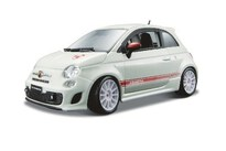 BBurago Abarth 500 Esseesse 1:24 White