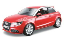 BBurago Audi A1 1:24 Metallic Red