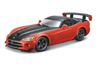 BBurago Dodge Viper Srt 10 Acr 1:24 Orange/Black