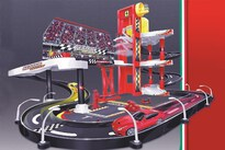 Bburago Ferrari Ferrari Racing Garage Incl. 1 Car 1:43