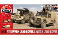 Airfix British Forces Land Rover Twin 2/12