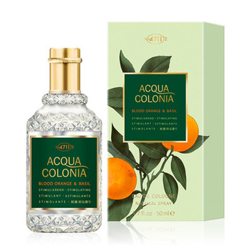 Unisex parfume Acqua 4711 EDC Blood Orange & Basil, 170 ml