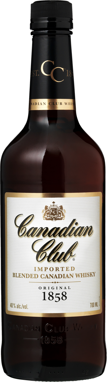 Canadian Club Whisky 40% 70 cl.