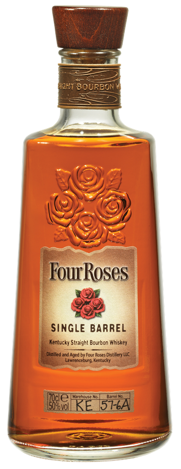 Four Roses Single Barrel Kentucky Straight Bourbon Whiskey 50% 70 cl.