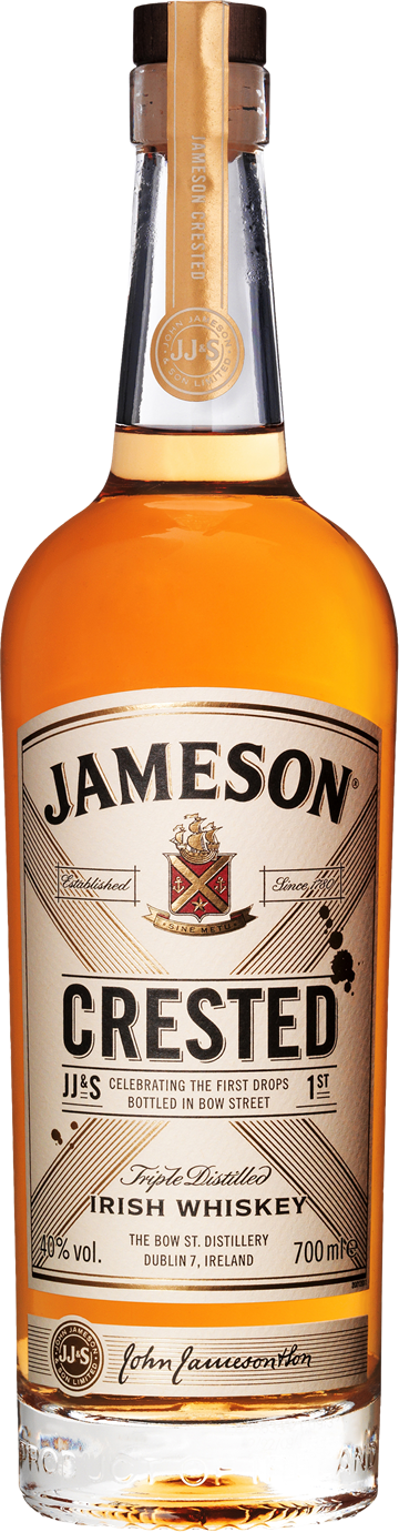 Jameson Crested Irish Whiskey 40% 70 cl.