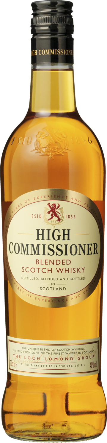 High Commisioner Blended Scotch Whisky 40% 70 cl.