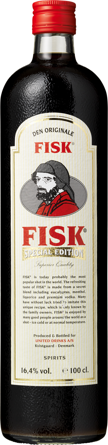 FISK Special Edition Shot 16,4% 100 cl.