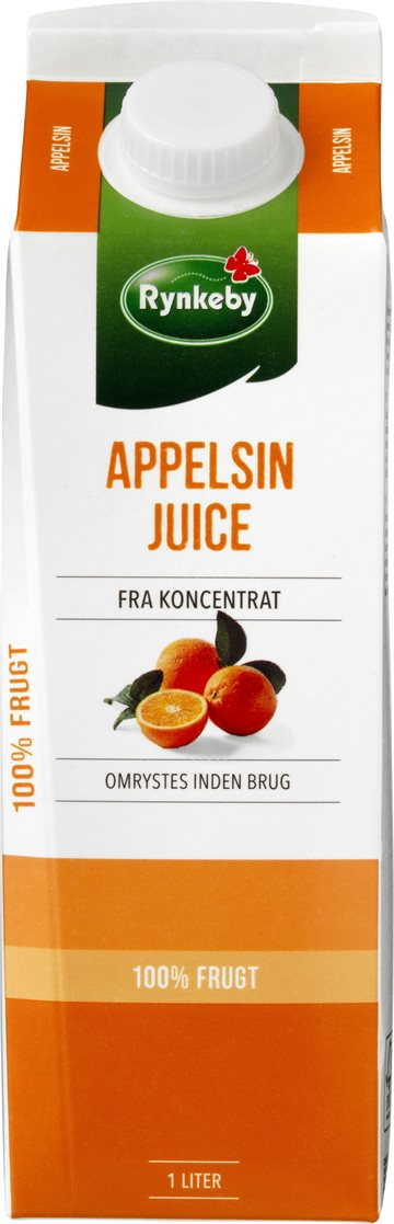 Rynkeby Professionel Appelsin Juice 12x100 cl.