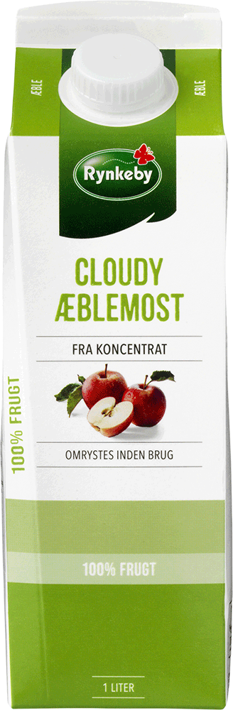 Rynkeby Professionel Æble Juice 12x100 cl.