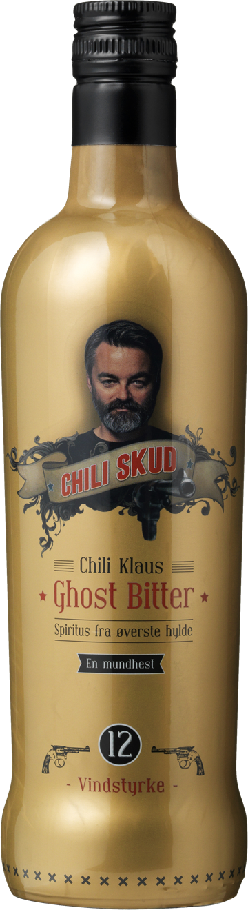 Chili Klaus Ghost Bitter Chili Skud Vindstyrke 12 20% 70 cl.