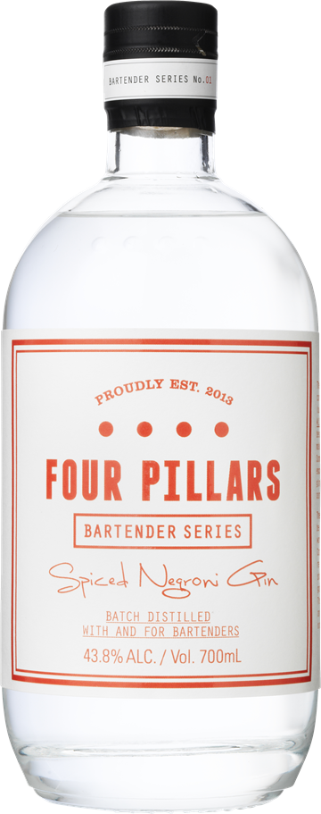 Four Pillars Spiced Negroni Gin 43,8% 70 cl.