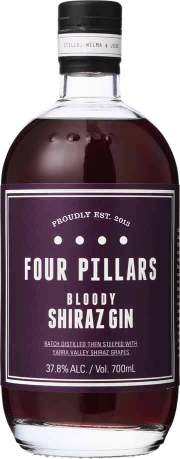 Four Pillars Bloody Shiraz Gin 37,8% 70 cl.