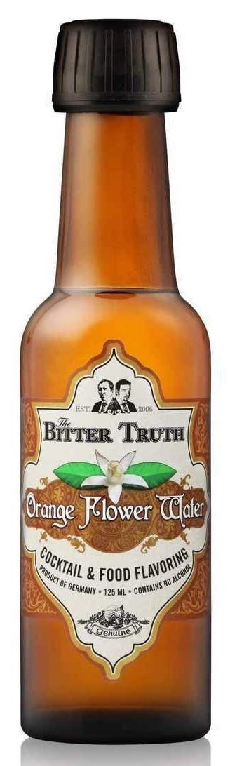 Bitter Truth Orange Flower Water 12,5 cl.