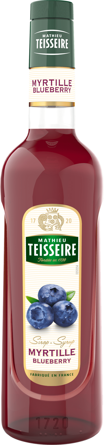 Mathieu Teisseire Blueberry Sirup 70 cl.