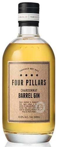 Four Pillars Chardonnay Barrel Gin 43,8% 50 cl.