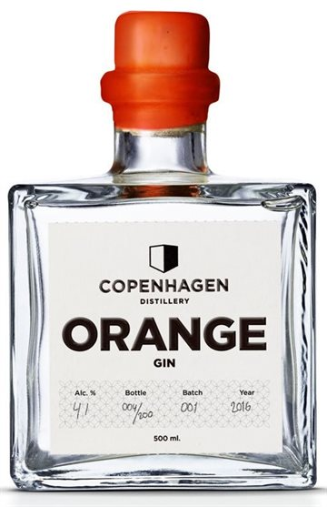 Copenhagen Distillery Orange Gin 41% 50 cl.