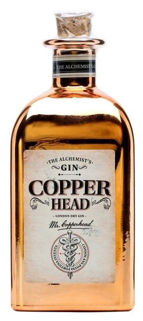Copperhead Gin 40% 50 cl.