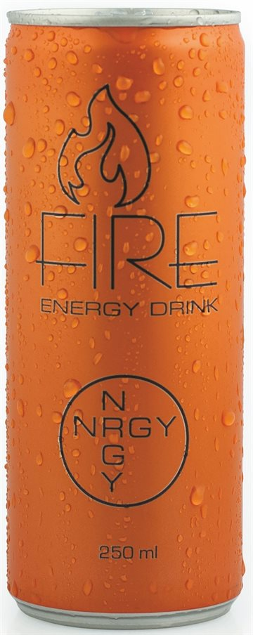 FIRE Energy Drink 25 cl
