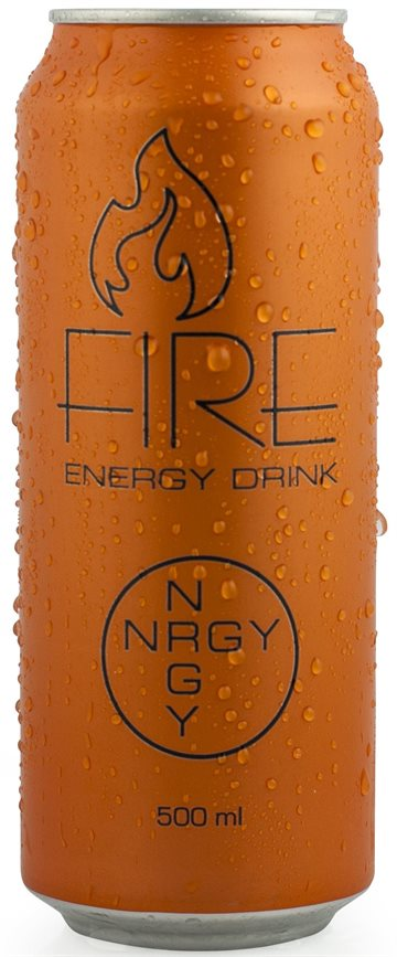 FIRE Energy Drink 50 cl