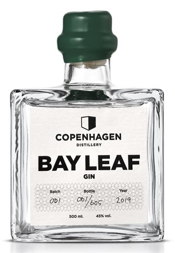 Copenhagen Distillery Bay Leaf Gin 45% 50 cl.