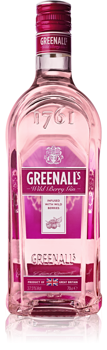 Greenall's Wildberry Gin 37,5% 70 cl.