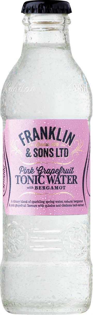 Franklin & Sons Pink Grapefruit Tonic Water 20 cl
