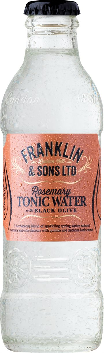 Franklin & Sons Rosemary Tonic Water 20 cl